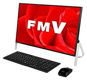 富士通 デスクトップパソコン FMV ESPRIMO FHシリーズ WF1/B3(Windows 10 Home/23.8型ワイド液晶/Core i7/8GBメモリ/約1TB HDD/Office Home and Business Premium/ブラック)AZ_WF1B3_Z570/富士通WEB MART専用モデル