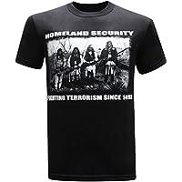 tees geek Homeland Security Fighting Terrorism Native American Indian Men's T-Shirt