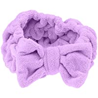 Dolity Cute Bowknot Makeup Cosmetic Headband Face Washing Mask Shower Bath Spa Hairband