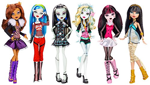 [モンスターハイ]Monster High Dolls Original Ghouls Collection CGH18 [並行輸入品]