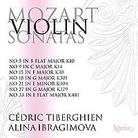 Mozart:Violin Sonatas [Alina Ibragimova; Cederic Tiberghien] [Hyperion: CDA68091] by Alina Ibragimova