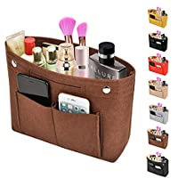 Kumako Purse Organizer,Felt Bag Organizer Insert Fit LV Neverfull-(PM,MM,GM),Speedy-(30.35.40),Longchamp&Totes(3 SIZE)