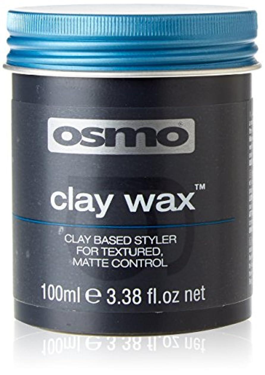 一目ワイヤーおなかがすいたアレス OSMO グルーミングヘアワックス クレイワックス 100ml