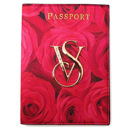 VICTORIA'S SECRET ヴィクトリアシークレット パスポートケース カードケース パスケース 花柄ピンク 並行輸入品 A5053