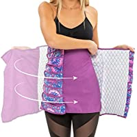 Unina -Bengkung - Postpartum Belly Wrap Band for Post Pregnancy Recovery - 100% Soft Cotton -Comfortable Breathable Shapewear - Easy to Apply Adjustable Maternity Support Shapewear