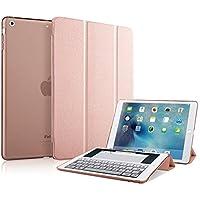 MS factory iPad mini2 mini3 カバー ケース アイパッド ミニ mini 2 3 スマートカバー 耐衝撃 ソフト フレーム オートスリープ 全10色 ローズゴールド IPDM3-SMART-RSGD1