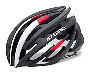 GIRO(ジロ) サイクルヘルメット AEON MATTE BLACK/BRIGHT RED M 7066377