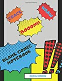 Blank Comic Notebook: Draw Your Own Comics - Various Pages of Fun and Unique Templates - A Large 8.5