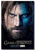 M007 ゲーム・オブ・スローンズ Game of Thrones 8 ポスター布プリントインチ Poster Fabric Prints 30x20 inch (519)