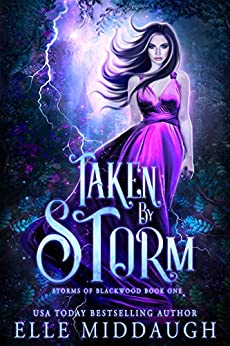 Taken by Storm (Storms of Blackwood Book 1) by [Middaugh, Elle]