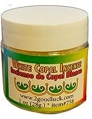 ホワイトCopal Spiritual Incense for Rituals、瞑想、健康1オンス。Incienso de Copal Blanco para Rituales、MEDITACIÓN Y SALUD。