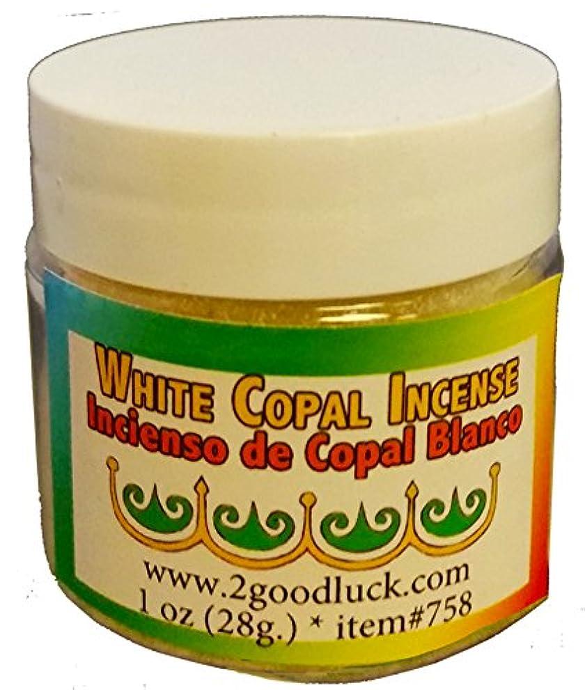 区画マエストロ全体ホワイトCopal Spiritual Incense for Rituals、瞑想、健康1オンス。Incienso de Copal Blanco para Rituales、MEDITACIÓN Y SALUD。