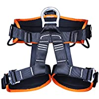 Outdoor Climbing Half Body Belts Rock Climbing Harness Falling Protection Safety Belt Rappelling Equipment,A