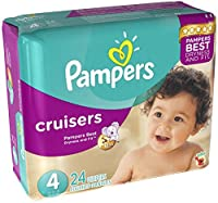 Pampers Cruisers Diapers - Size 4 - 24 ct by Pampers