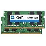 iRam (アイラム) iMac (Retina 5K, 27-inch, 2017) 増設メモリー PC4-19200 (DDR4-2400MHz) SO.DIMM (16GB (2×8GB))