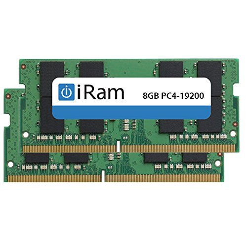 iRam  アイラム  iMac  Retina 5K, 27-inch, 2017  増設メモリー PC4-19200  DDR4-2400MHz  SO.DIMM  16GB  2×8GB
