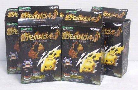 TOMY トミー ポケモンバトルフィギュア 4種5個セット