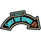 Busted Knuckle Garage BUST088 Shade Tree Repairs Metal Sign [並行輸入品]