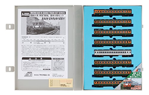 Nゲージ A0880 91系準急「東海」基本8両セット