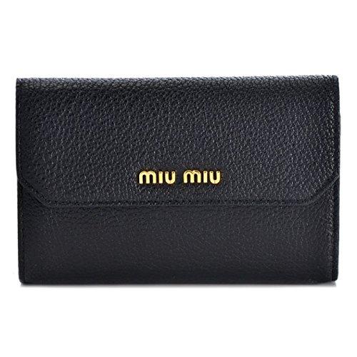 MIUMIU(ミュウミュウ) 二つ折り財布 5ML225 2EW8 002 [並行輸入品]