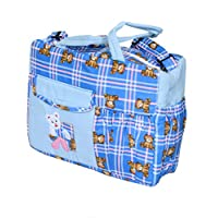 Kuber Industriesママのバッグ、ベビーキャリアバッグ、おむつバッグ、旅行バッグ(折りたたみパターン)