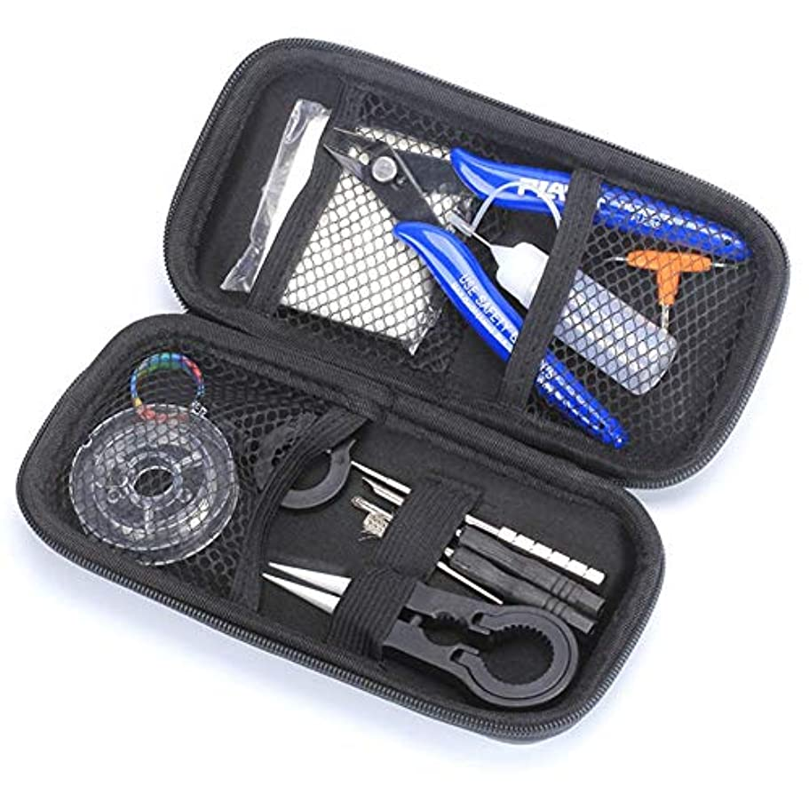 穴変換お尻TERbahulan 電子タバコ専用 VAPE DIY X6diy ツールキット DIY Kit 工具バッグ 初心者向け 収納便利