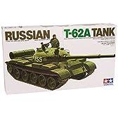 タミヤ 1/35 ミリタリーミニチュアシリーズ No.108 ソビエト陸軍 T-62 プラモデル 35108