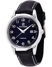 [オキシゲン]OXYGEN 腕時計 SPORT VINTAGE 40(スポーツ ヴィンテージ 40) Mamba(マンバ) Classic Leather MAM-40-CL-BL メンズ 【正規輸入品】