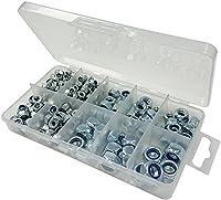 バルク ハードウェア BH06565 セルフロックナイロン (ナイロック) 六角ナット 10コンパートメントキャリーケース入り