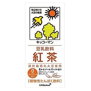 キッコーマン飲料 豆乳飲料 紅茶 1L×6本