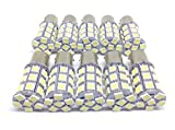 27連 10個セット 24V用 LED S25 シングル球 白 赤 青 緑 桃 紫 (イエロー3000k)