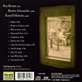 Ray Brown/Monty Alaxander/Russell Malone 画像