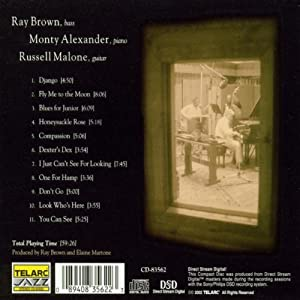Ray Brown/Monty Alaxander/Russell Malone