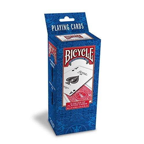 自転車ライダーバックポーカートランプ - 1ダース12デッキ Bicycle Rider Back Poker Playing Cards - 1 Dozen 12 decks