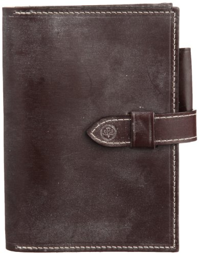 BRIDLE LEATHER NOTE BOOK COVER M グレンロイヤル