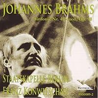 ブラームス:交響曲第4番 フランツ・コンヴィチュニー指揮シュターツカペレ・ベルリン(ベルリン国立歌劇場管弦楽団)