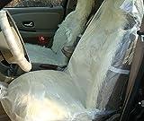 汎用 車 使い捨て ビニール シート カバー セット 座席 汚れ 防止 養生 保護 業務用 (100枚)