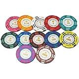 ポーカー カジノ チップマーカー ラウンド用品 グリーンマーカー (12枚セット)