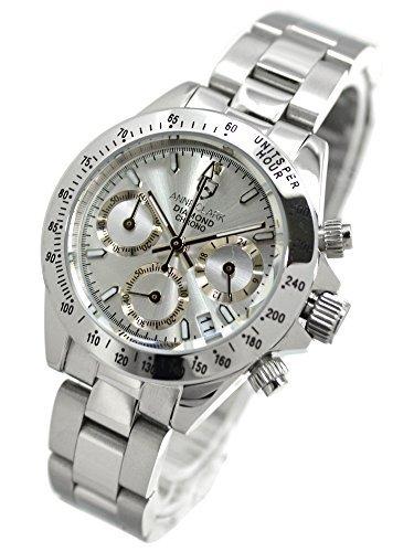 アンクラーク ANNE CLARK 腕時計 クロノグラフ DIAMOND CHRONO ダイヤモンドクロノ AM-1012VD-02 レディース 国内正規品