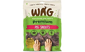 Pig Snouts 750g, Grain Free Hypoallergenic Natural Australian Made Dog Treat Chew, Perfect for Training