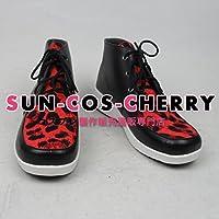 【サイズ選択可】コスプレ靴 ブーツ Z1-0473 ユーリ!!! on ICE ユーリ・プリセツキー 女性24.5CM