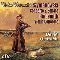 Szymanowski/Hindemith: Violin
