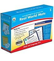 Carson-Dellosa Real World Mats Grade 5 [並行輸入品]