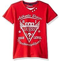 Guess Boys' Big Bennett Short Sleeve Graphic T-Shirt,