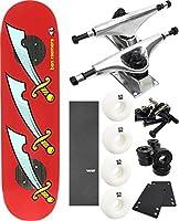 "Enjoi Skateboards ancestryスケートボード8"" x 31.7"" Complete Skateboard–7項目のバンドル"