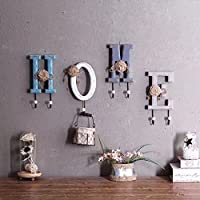 LEO BON JP インテリア 壁掛けフック おしゃれ 壁飾り 英字アルファベットHOME