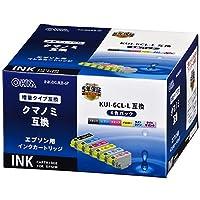 エプソン クマノミ KUI-6CL-L互換インク(6色パック) 01-4319 INK-EKUILB-6P