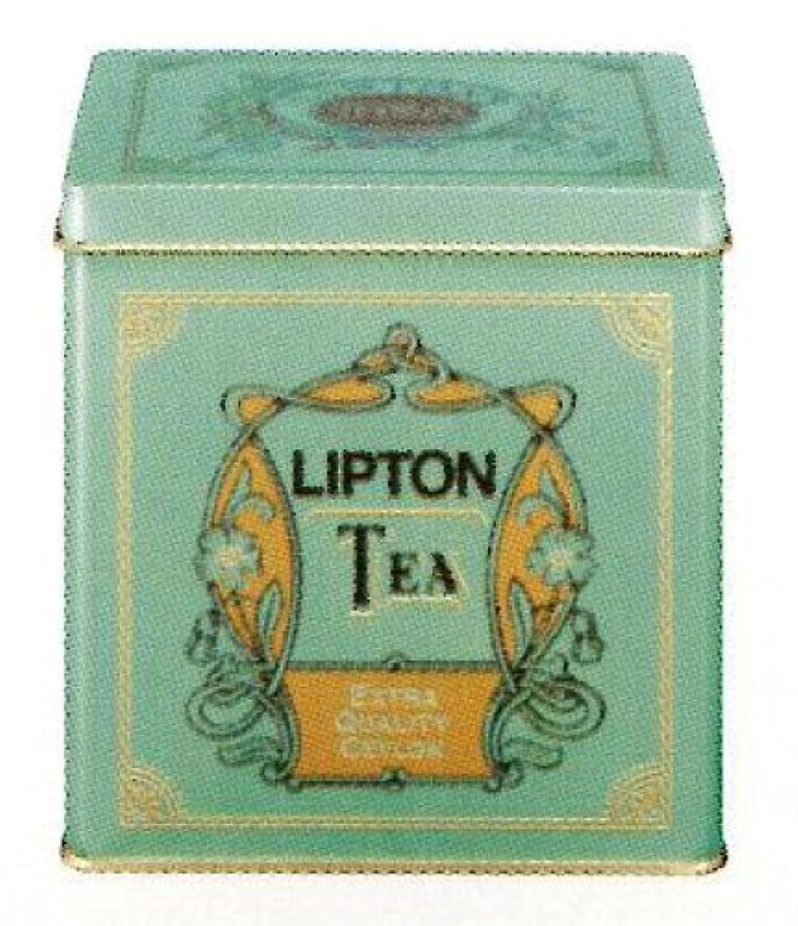 アッパー継承最近リプトン リーフティー エクストラクオリティセイロン 青缶 450g
