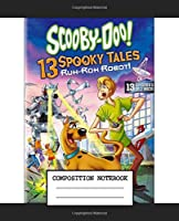 Composition Notebook: Shaggy And Scooby Great Dane Scooby-Doo American Cartoon Rogers Velma Daphne Fred Wide Ruled Lined Workbook Teenage Girls Boys Kids Adults Paper 7.5 x 9.25 Inches 110 Pages