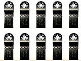 プラスチック・木材用10点 マルチツール 替刃 日立 マキタ ボッシュ BOSCH カットソー ブレード 先端工具